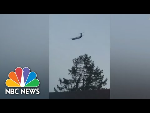 Stolen Plane's Flight Captured On Video By Witnesses | NBC News
