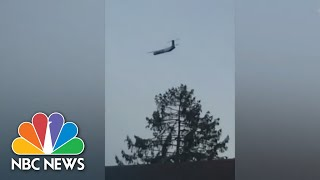 Stolen Plane's Flight Captured On Video By Witnesses | NBC News