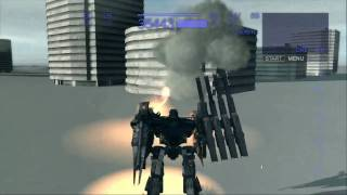 armored core 4 answer ps3 HD review part 2