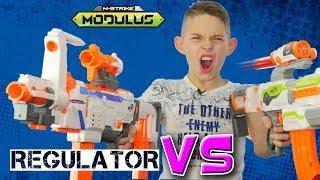 Честное сравнение Нёрф Модулус Регулятор // Сomparison Nerf Modulus Regulator vs ECS 10