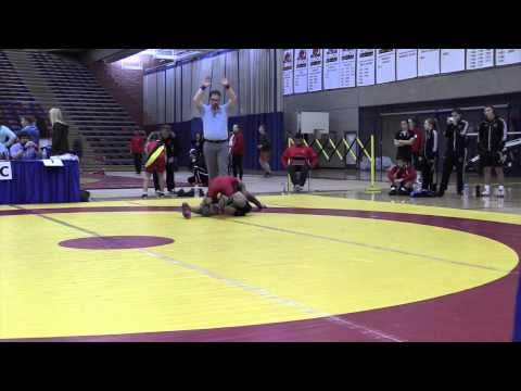 2014 Dino Invitational: 54 kg Johnny Vo vs. Cean Bod-Oy