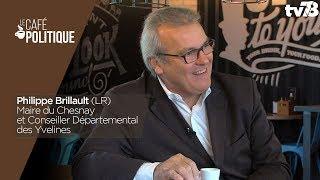 Café Politique n°44 – Philippe Brillault, Maire (LR) du Chesnay et Conseiller Départemental