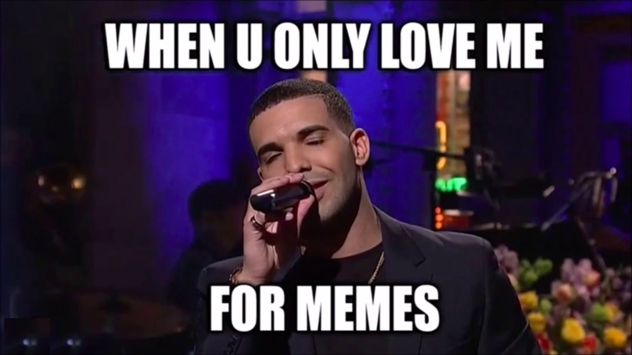 maxresdefault drake impersonates rihanna, sings 'more than a meme' on snl youtube,More Than That Meme