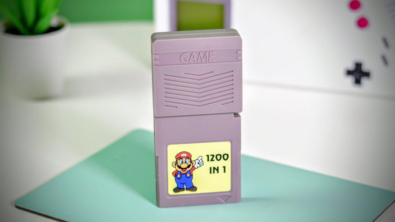 1200 GameBoy Games in 1