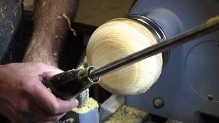 Wood Turning - Beginners Guide # 5 - The Bowl Gouge
