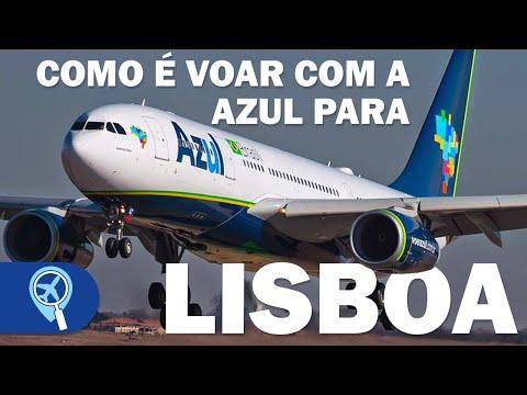 Como é voar com a Azul de Campinas para Lisboa na Classe Econômica | AD 8750 | Airbus A330-200