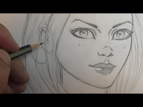 how-to-draw-a-pretty-girl's-face-in-a-comic-book-style