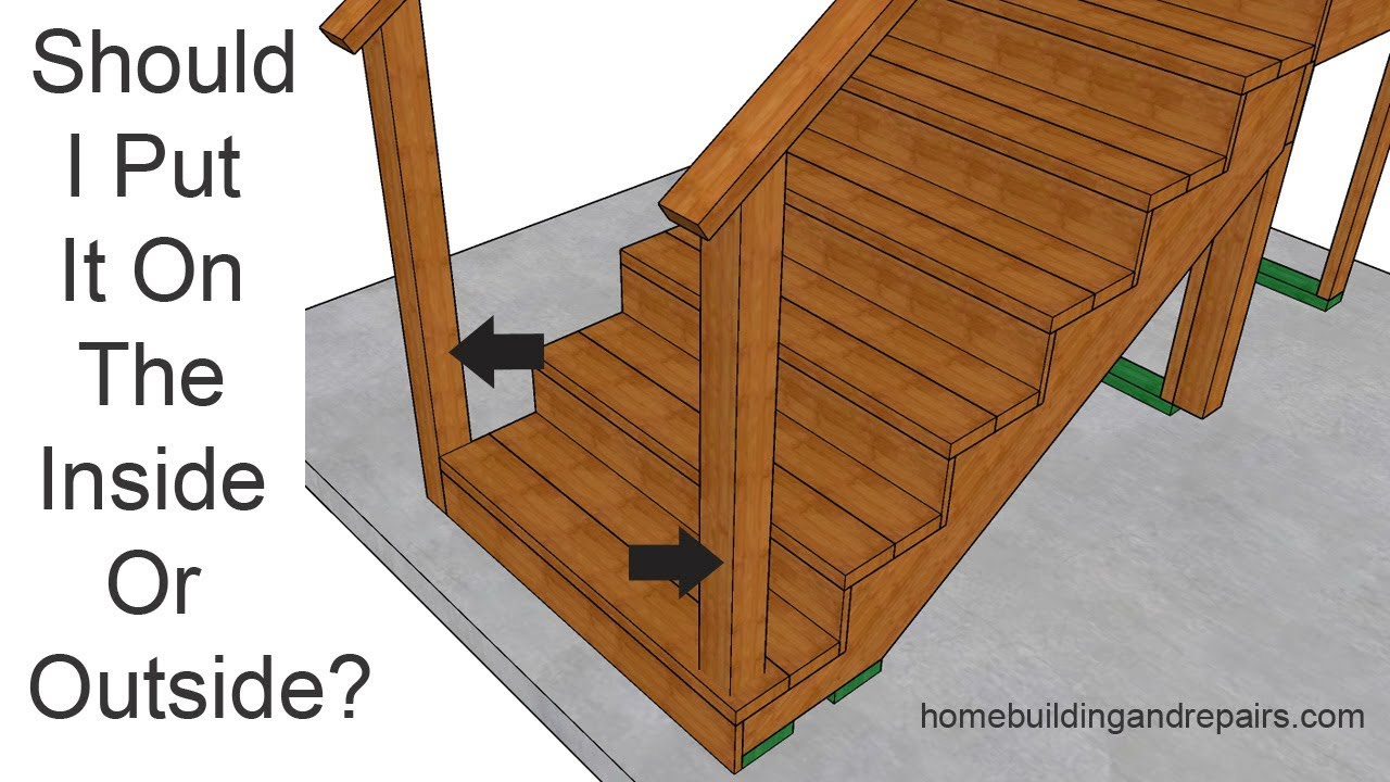 One Of The Biggest Problems With Post Locations   Deck Handrails
