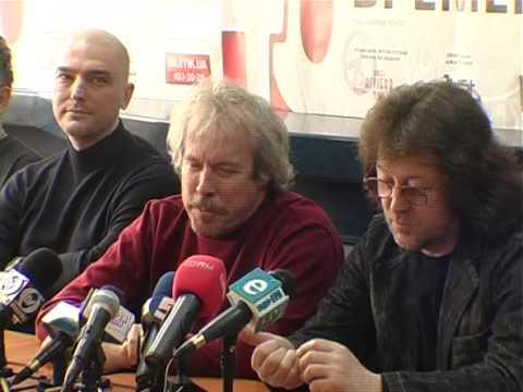 NetTVcomua Машина Времени пресс-конференция