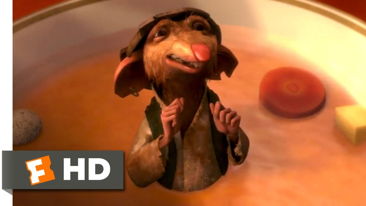 Download The Tale of Despereaux (2008) - Rat in the Soup Scene (1/10) | Movieclips