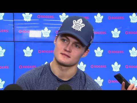 Maple Leafs Post-Game: William Nylander - November 16, 2017