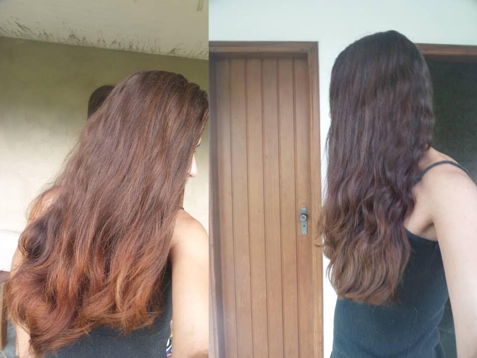 como tirar coloracao do cabelo