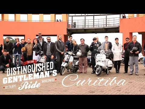 Distinguished Gentleman's Ride  2015  Curitiba, Brazil