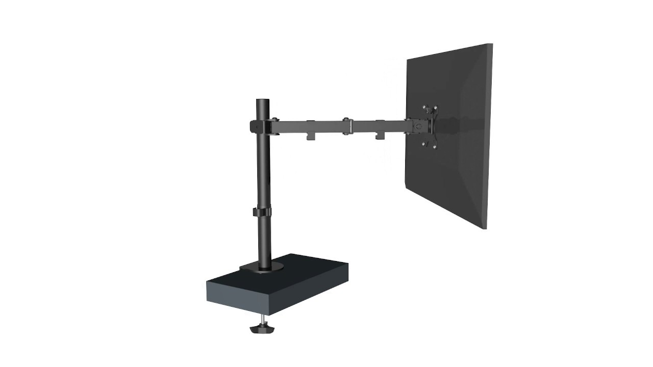 Swing Arm Desk Pc Monitor Mount For 19 32 Televisions