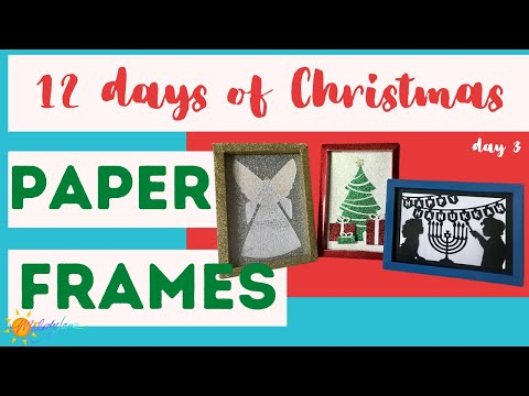 12 Days of Christmas Day 3 - Frame Projects