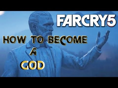 HOW TO BE A GOD ON FARCRY 5| Infinite Health| Infinite perk Points| Infinite ammo