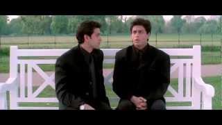 k3g shahrukh hrithik bench scene hq 720p