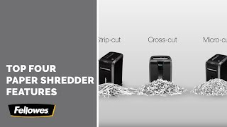Choosing the Best Fellowes Paper Shredder Features