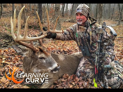 S:1 EP:9  BOWHUNTING FOR BIG OHIO BUCKS - EPIC BIG BUCK FOOTAGE!