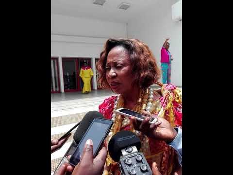 Hommage nationale au Dr Marie Paule Kodjo par la plateforme de l'entrepreneuriat féminine