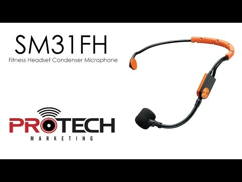 Shure SM31FH - Fitness Headset Microphone