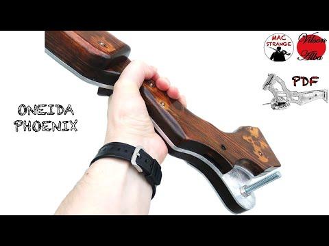 Make Oneida Compound Bow from Arrow: il RISER feat Vilson Alba #diy #faidate #arco