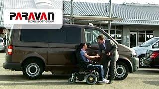 Behindertenfahrzeuge und Elektro-Rollstühle made by Paravan