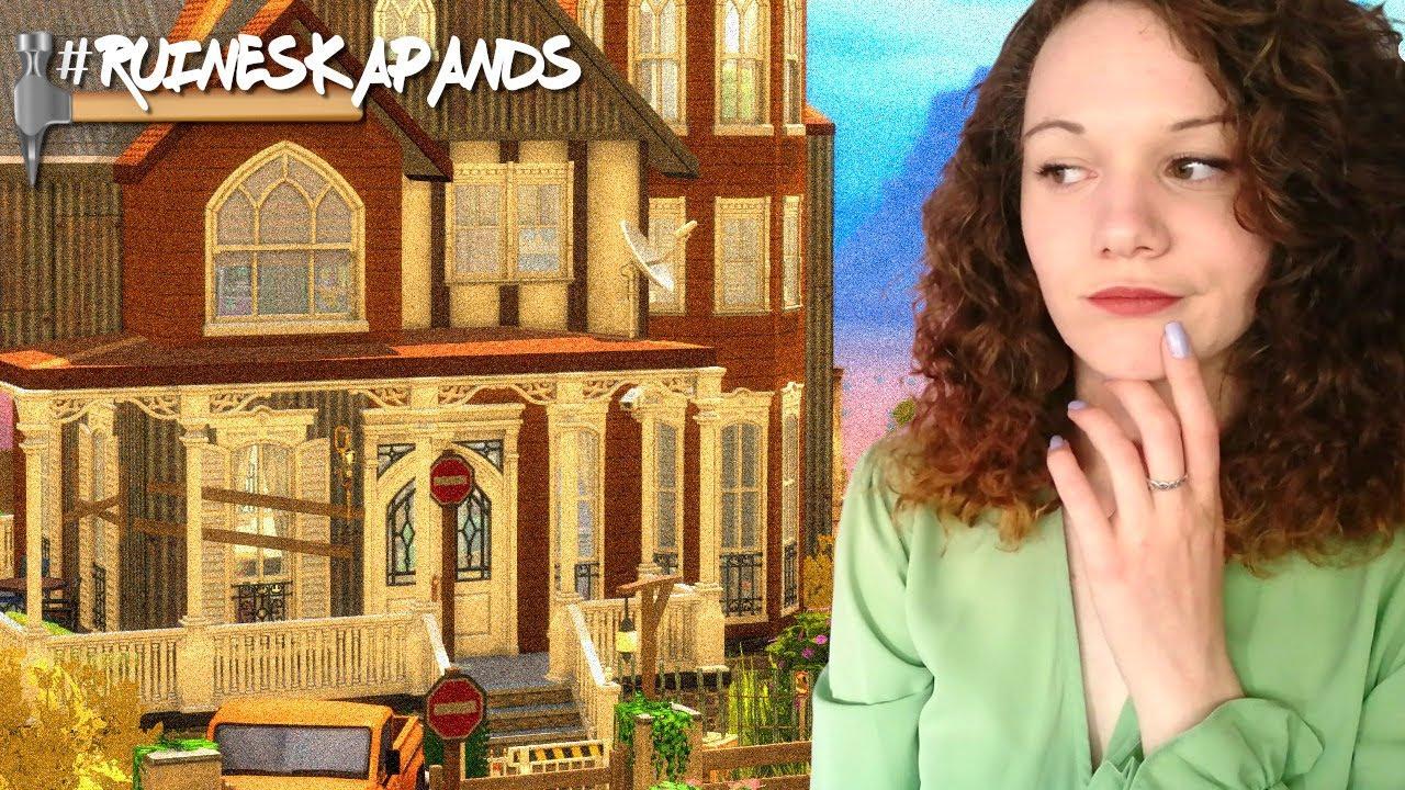 J'ai rénové cette maison victorienne abandonnée ! 👷♀️🔨    Sims 4