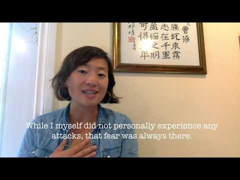 Keren Tang shares her anti-Asian racism fears.
