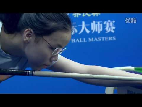 Tang Chunxiao VS Richard Halliday - World Chinese 8 Ball Masters Tour 2016-2017 Stage 2 Jiujiang