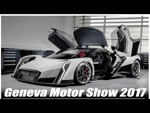Geneva Motor Show 2017 :- Top 8 EVs Of The Show l You Must See