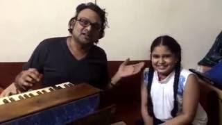 Sneha Shankar Singing Thumri - Yaad Piya Ki Aaye on the birthday of Deepak pandit ji