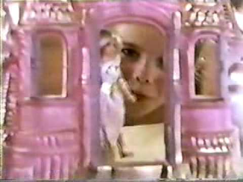 SECOND VINTAGE 80'S SHE RA CRYSTAL CASTLE COMMERCIAL W CHRISTIE CLARK