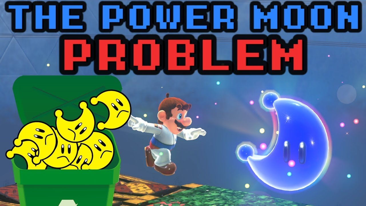 Super Mario Odyssey's Power Moon Problem