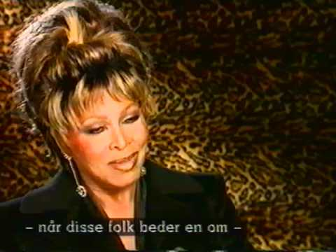 """TINA TURNER about her role in JAMES BOND 007 """"GOLDENEYE"""" singing the lead tune"""