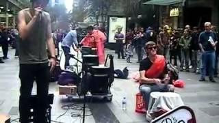 Jack Man Friday - Hip Hop (Dub FX Cover) - Pitt Street Mall