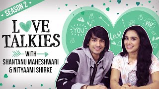 Shantanu Maheshwari & Nityaami Shirke on honeymoon phase of dating | Love Talkies | Nach Baliye 9