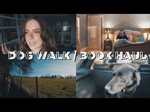 DOG WALK + NEW JEANS + BOOK HAUL VLOG | sunbeamsjess