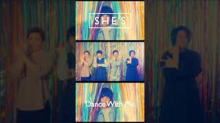 SHE'S - Dance With Me【Music Video】#SHE_S #Now&Then #shorts