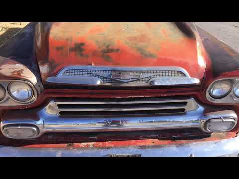 1958 Chevy Big window V8 for sale