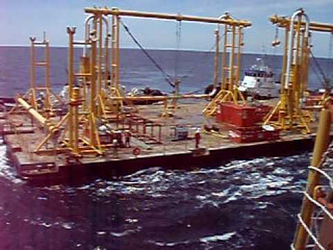 Offshore Jumper barge Gulf of Mexico.