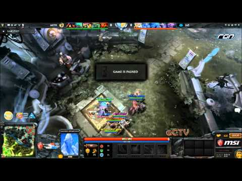 Dota 2- MSI Beat It RGN League Wildcard : MITH.Trust vs Inter Active Philippines