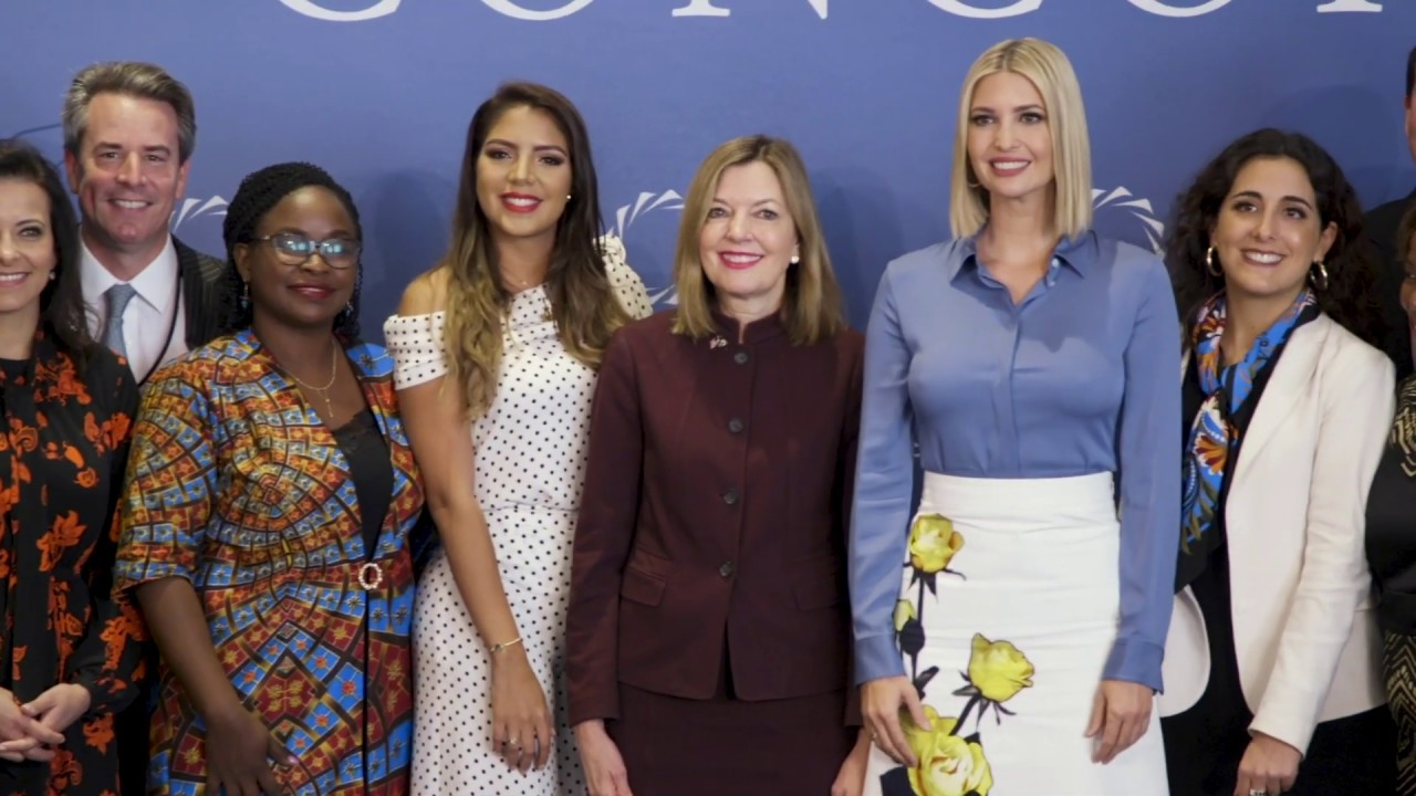 The White House Ivanka Trump Discusses W-GDP and Women's Economic Empowerment
