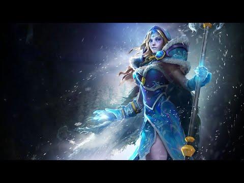 видео: dota 2. обзор crystal maiden arcana