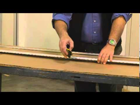 How To Install A Select Sl57 Full Surface Hinge Youtube