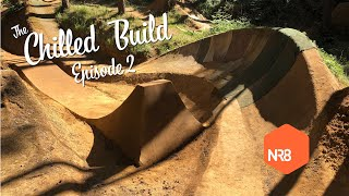 Chilled Build ep.2 Trail Sculpture timelapse & ride - WILL IT WORK? - Dirt Jump building by hand.