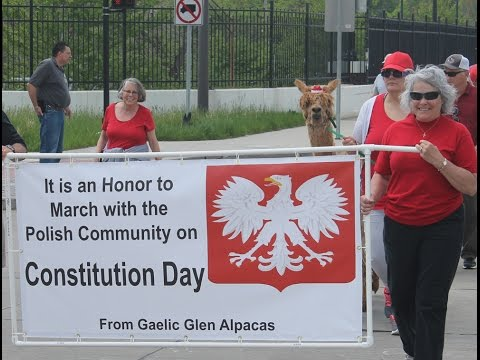 Polish Constitution Day Parade 2017 Cleveland Slavic Village
