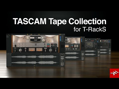 T-RackS Tascam Tape Collection - Re-live the magic of 4 imaginative tape decks