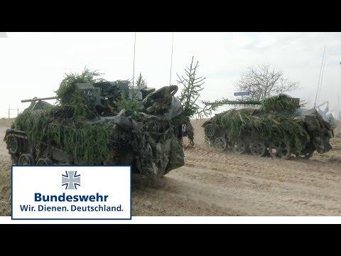 Unter Feuer: Jägerbataillon übt in Litauen - Bundeswehr