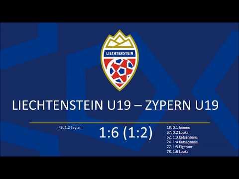 U19 Liechtenstein - Zypern 1:6
